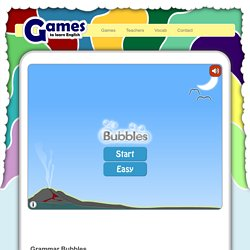 Bubbles English
