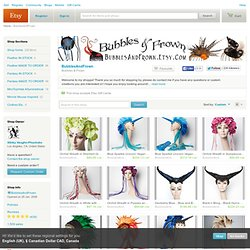 Bubbles & Frown by BubblesAndFrown on Etsy