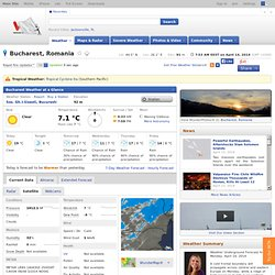 Weather Forecast Bucureşti, România