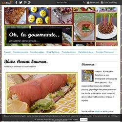 Bûche Avocat Saumon.
