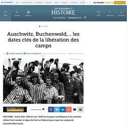 Auschwitz, Buchenwald,... les dates clés de la libération des camps