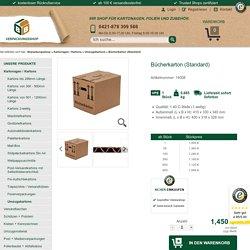 Bücherkarton (Standard) - BB Verpackungsshop