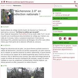 """""""Bûcheronne 2.0"""" en sélection nationale ! - Mission académique égalité filles garçons"""