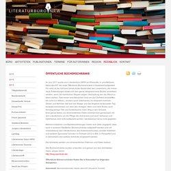 Öffentliche Bücherschränke - Literaturbüro NRW e.V.