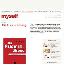Buchtipp: Die Fuck it- Lösung - myself