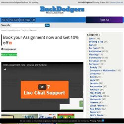 Book your Assignment now and Get 10% off