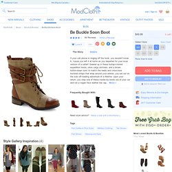 Be Buckle Soon Boot | Mod Retro Vintage Boots