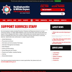 Support Services Staff