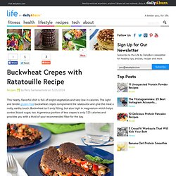 Buckwheat Crepes with Ratatouille Recipe