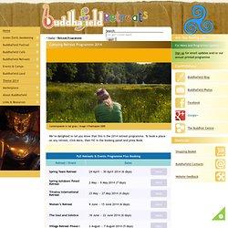 Buddhism and Meditation Retreats programme2010