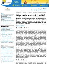 Dépression et spiritualité
