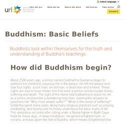 Buddhism: Basic Beliefs
