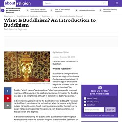 Buddhism Basic Beliefs and Teachings