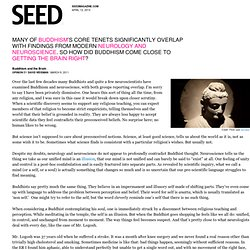 Buddhism and the Brain & SEEDMAGAZINE.COM - StumbleUpon