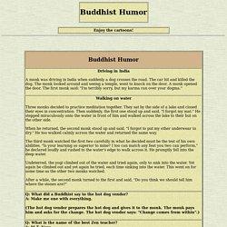 Buddhism Depot: Buddhist Humor