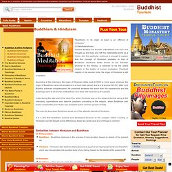 Buddhism & Hinduism,Comparitive Study of Buddhism & Hinduism,Compare Contrast Buddhism & Hinduism