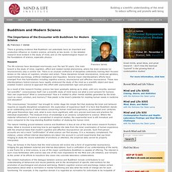 Buddhism and Modern Science