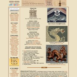 Dragons, Dragon Art, and Dragon Lore in Japan, Buddhism & Shintoism Photo Dictionary