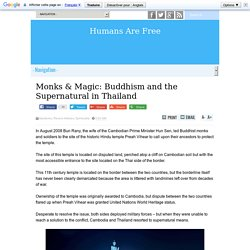 Monks & Magic: Buddhism and the Supernatural in Thailand