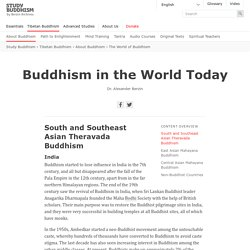 Buddhism in the World Today — Study Buddhism