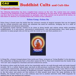 Buddhist Cults