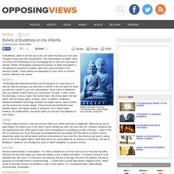 Buddhism Afterlife