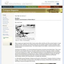 Buddies: Soldiers and Animals in World War II