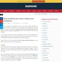 10 thèmes WordPress pour créer un réseau social avec BuddyPress