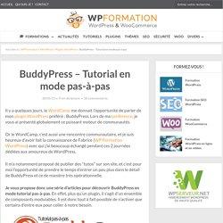 BuddyPress - Le Tutorial complet en mode pas-à-pas