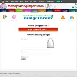 Budget Brain: the ultimate free budget planner :: Budget Brain: the ultimate free budget planner