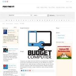 Budget Computers : Computers