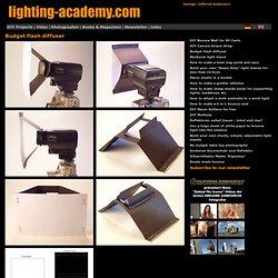 Budget flash diffuser
