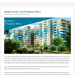 Budget Homes: The Pandemic Effect – Repco Home