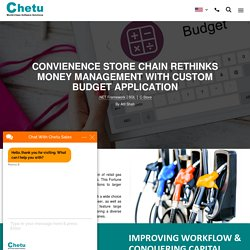 Looking for Budget Management Software for Convenience Stores