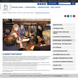 Le budget participatif - Site internet de la région Nord Pas de Calais
