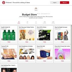 Budget Store on Pinterest