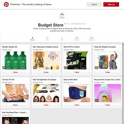 Budget Store on Pinterest