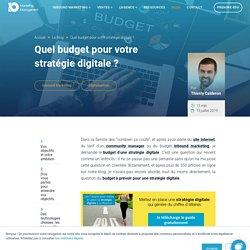 Quel budget pour votre stratégie digitale ?