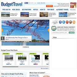 Travel deals and news, hotel reviews, vacation tips - Budget Travel