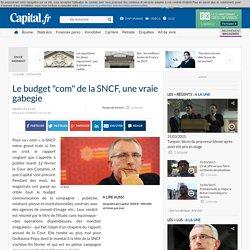 """Le budget """"com"""" de la SNCF, une vraie gabegie"""