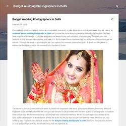 Budget Wedding Photographers in Delhi