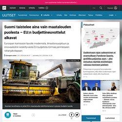 Suomi taistelee aina vain maatalouden puolesta – EU:n budjettineuvottelut alkavat