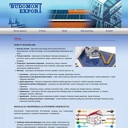 BudomontExport.pl - instalacje CO, alarmy, elektryka, remonty, izolacje, kanalizacja