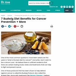 Budwig Diet Protocol For Cancer - DrAxe.com