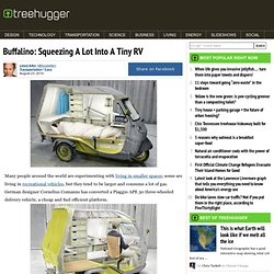 Buffalino: Squeezing A Lot Into A Tiny RV
