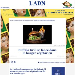 Buffalo Grill lance son cheesburger végétarien sans viande