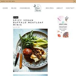 Spicy Vegan Buffalo Meatloaf Minis Recipe (gluten-free)