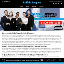Buffalo Technical Support