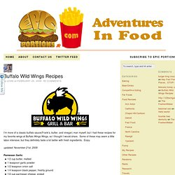 Buffalo Wild Wings Recipes