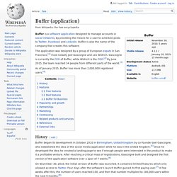 Buffer (application)